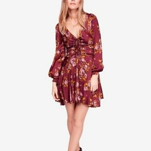 Free People Morning Lite Floral Minidress Size 4